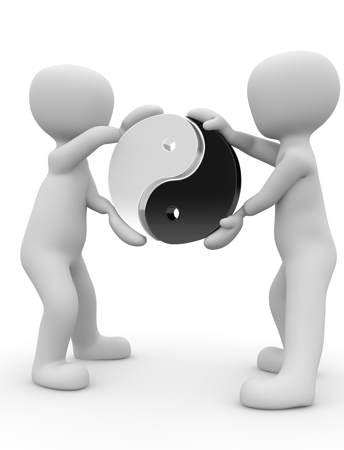 Online Marketing selber machen Ying&Yang